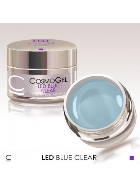 COSMO ГЕЛЬ LED BLUE CLEAR 15 МЛ